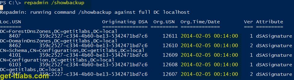 Windows Server Backup ile Active Directory Yedek Alma