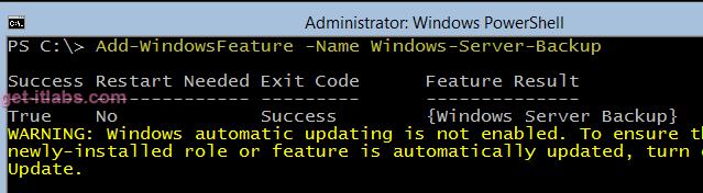 Ücretsiz Windows Hyper-V Server 2012 R2 Backup