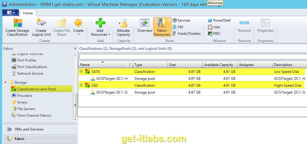 SMI-S ile SCVMM 2012 R2 Storage Yönetimi – 1
