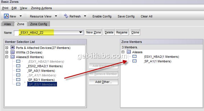 EMC / Brocade SAN Switch Zone Ayarlamaları